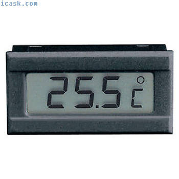 Voltcraft TM-70 Digital LCD Thermometer Module -50 to +70 C degree Panel Mount
