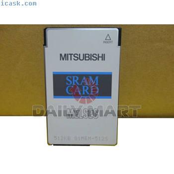 MITSUBISHI SRAM Q1MEM-512S Q1MEM512S NW IN BOX MEMORY CARD SRAM 512KB