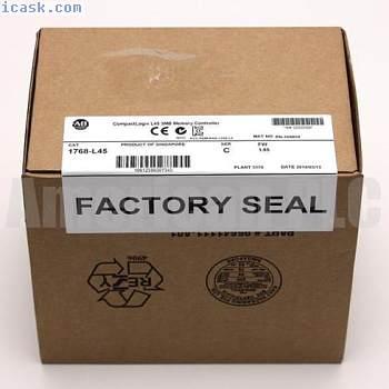 New Allen Bradley 1768-L45 /C CompactLogix L45 3MB Memory Controller 1768L45