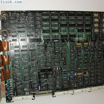 AS-521P-011 REV 34 GOULD MODICON MEMORY BOARD