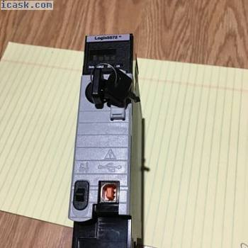 Allen-Bradley Controllogix 5572 1756-L72/A F/W Rev. 1.008 tested