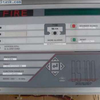 AUTRONICA BS100 DYFI DYNAMIC FILTER PROCESS ALARAM FIRE DETECTION SYSTEM