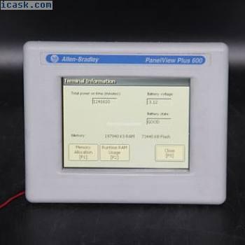 Allen Bradley Panelview Plus 600 2711PC-T6M20D8 Ser A