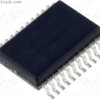 1 st Driver; LED Controller; 5÷60mA; Kanäle:16; 4,5÷5,5V; SSOP24