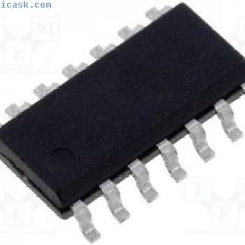 3 st Driver; PWM controller; LED Controller; 5÷150mA; -0,4÷6V; SO14