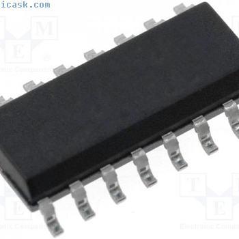 1 st Driver; LED Controller; 5÷45mA; Kanäle:8; 3÷5,5V; SOP16