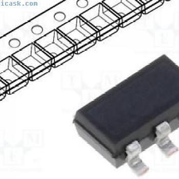 1 pcs Driver; contrôleur LED; 150mA; Canaux:1; 0÷4,5V; SC74