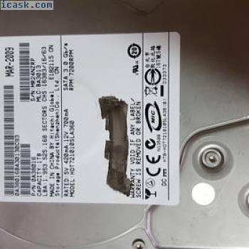 Hitachi HD721010SLA360 0A38016 Hard Drive