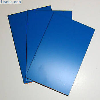 3-pack Photo resist coated board 10x16cm FR4 epoxy glass double sided two sided
