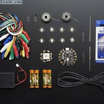 FLORA GPS Starter Pack - Wearable tech - Adafruit