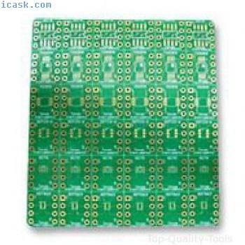 Tunke Adapter Platte,Prototyping SMT IC Teil # Texas Instruments dip-adapter-evm