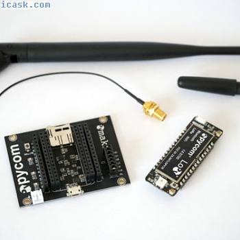 Pycom LoPy 868MHz Lora Wifi BLE dev boards bundle