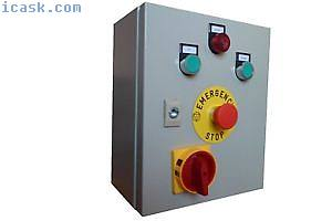 Car lift motor control panel 4 kw, reversible motor control panel