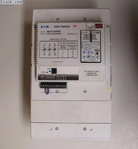 EATON S801T24N3S 92EA10019H0005H 240A 240 A AMP 600V 200 HP SOFT START STARTER
